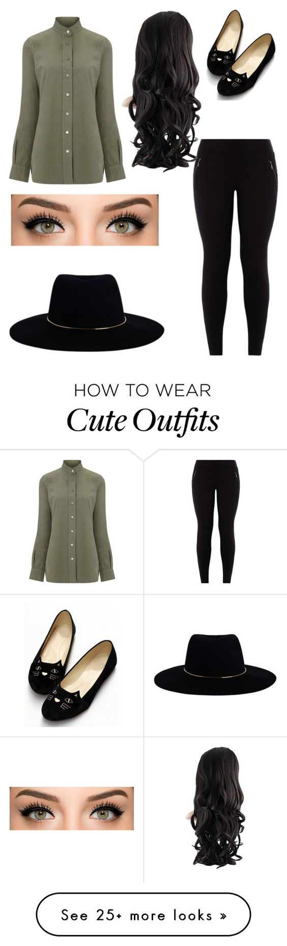"""""""cute outfits"""" by pitmar on Polyvore featuring Frame Denim and Zimmermann"""