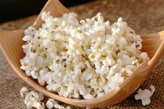 Wasabi and ginger popcorn. Ready for the next movie? | Olive Oils from Spain