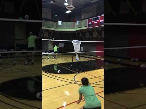 Better Volleyball Passing Begins With Volleyball Passing Drills Volleyball Volleyball Skills
