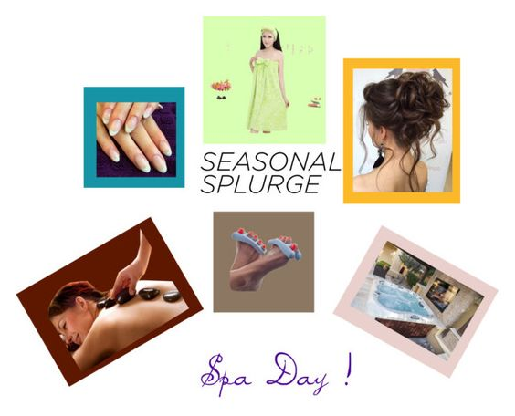 """""""Spa Day"""" by agordon9369 ❤ liked on Polyvore featuring TradeMark"""