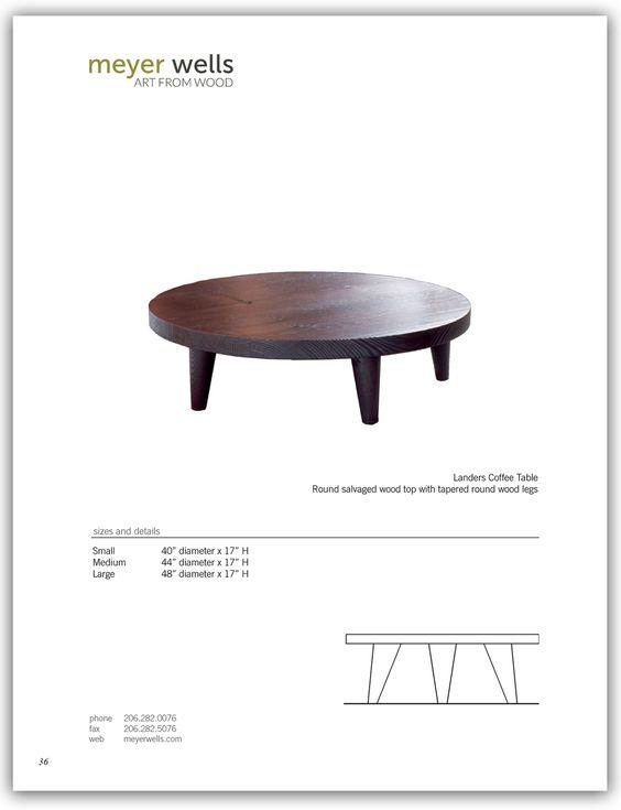 meyer wells landers coffee table | work - hotels - furniture
