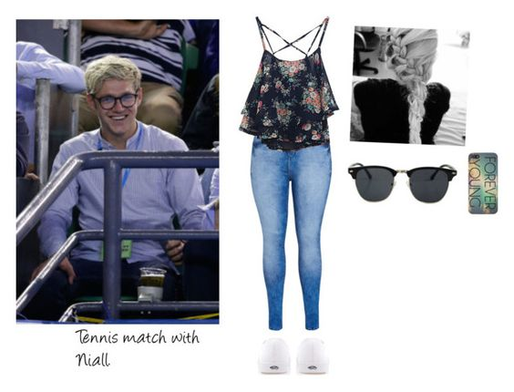 """""""Tennis match with Niall.!"""" by directioner-dxi ❤ liked on Polyvore featuring art"""