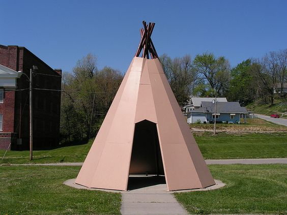 Replica Indian Teepee by JeromeG111, via Flickr