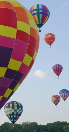 Largest Balloon Festival in Texas is held annually from Sept.-16-18th. in Plano Texas. Must book a trip for the kids they would love it!