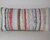 24 x 12 kilim lumbar pillow kilim throw pillow kilim pillow case decorative pillow cover turkish cushion cover bolster boho bohemian large
