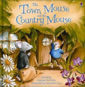 Usborne-Town-Mouse-and-the-Country-Mouse-c2007-NEW-Hardcover