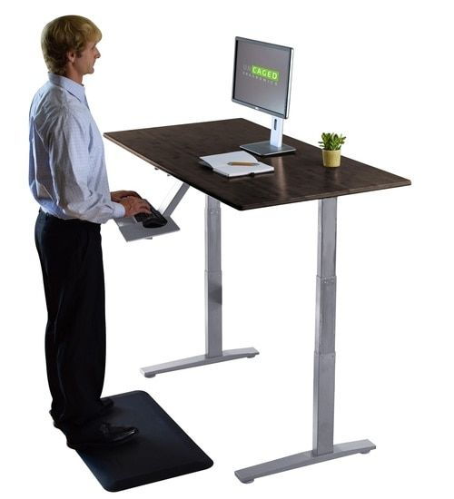 The Standing Desk Worthy Work For Great Scribes Savillefurniture Height Adjustable Computer Desk Adjustable Height Standing Desk Standing Desk Office