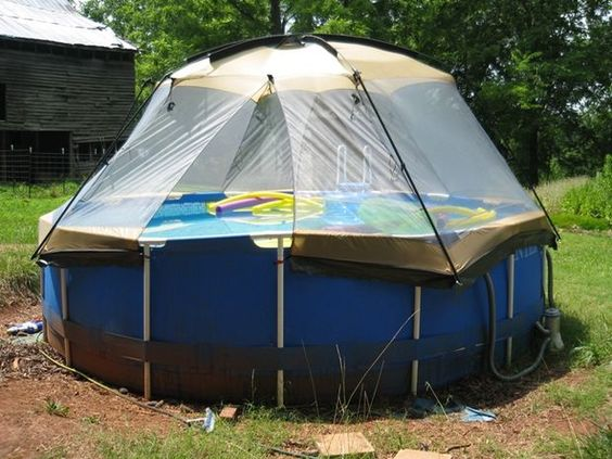 Pools Tent And Screens On Pinterest