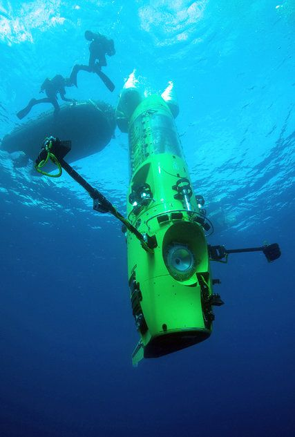 james cameron - deepsea challenge, 7 miles down