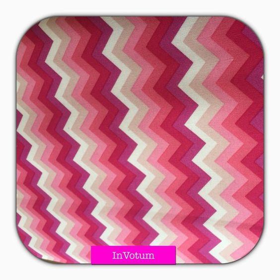 Retro Baumwollstoff Rosa pink von In Votum - Kreativ Manufaktur auf DaWanda.com