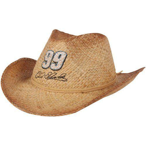 NASCAR Chase Authentics Carl Edwards Ladies Straw Cowboy Hat by Football Fanatics. $24.95