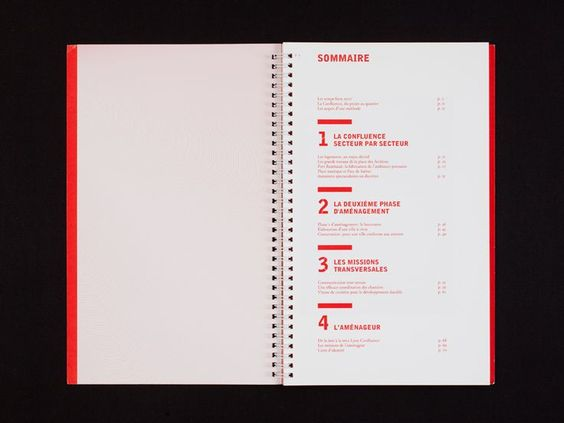 Lyon Confluence Communication Bureau 205 Page Bureau Communication Confluence Graphism Lyon Page Book Layout Page Layout Design Book Design