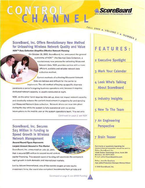 Yoga Newsletter Templates    Newsletter Corporate Newsletter