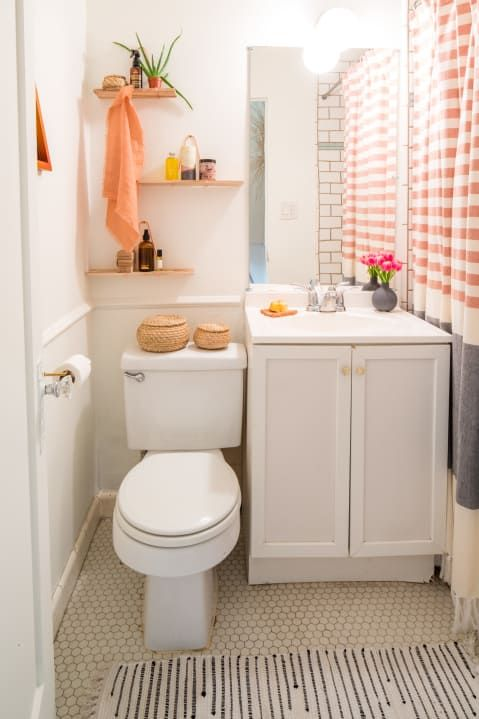 A Boho Minimal Rental In Santa Barbara Bathroom Interior Bathroom Design Apartment Bathroom