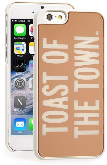 kate spade new york 'toast of the town' iPhone 6 case
