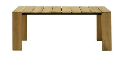 Scopri Tavolo Pier -190 x 100 cm, 190 x 100 cm - Teck di Roda, Made In Design Italia