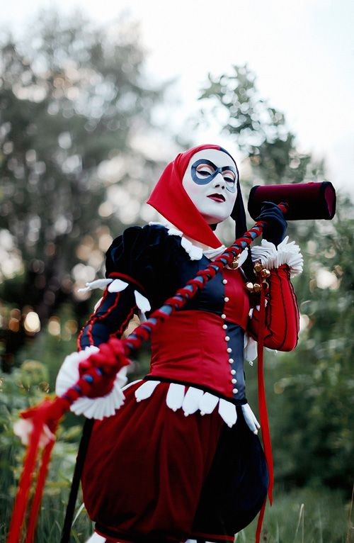 Lady Integra als Harley Quinn
