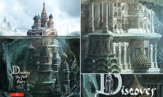 莫斯科Schusev建築歷史博物館《Discover the Full Story》創意廣告 - LaVie 設計美學家
