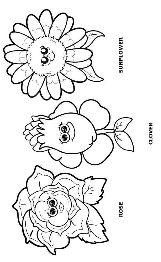 Girls Scouts Sunny The Sunflower Sheets Coloring Pages