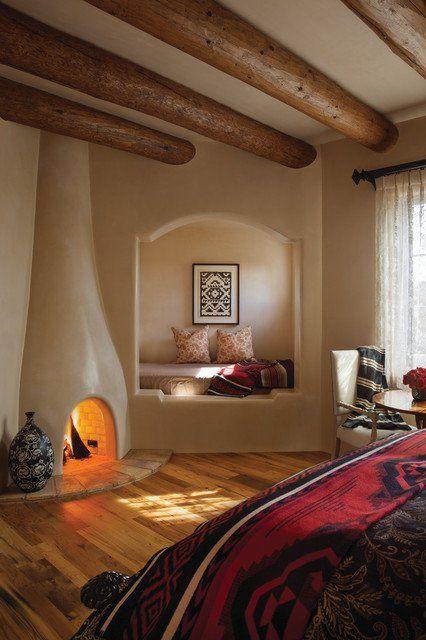 Southwestern Interior Design How To Achieve The Look Guest Bedroom Design Bedroom Design Inspiration Interior Design Bedroom