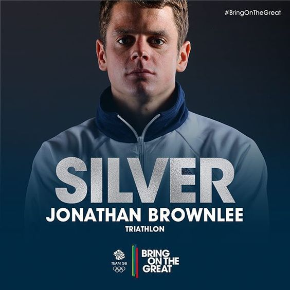 And Jonny Brownlee - what can we say. Awesome performance - Team GB truly rule…