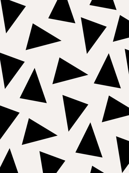 Triangle pattern, Triangles and Patterns on Pinterest