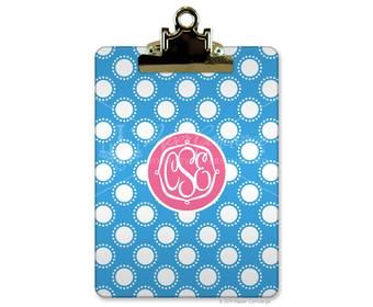 Personalized clip boards - add your own colors and pictures! 20% off in August.