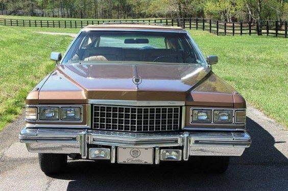 1976 Cadillac Fleetwood Brougham Castillian wagon