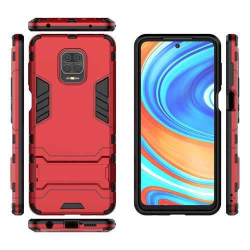 گارد ضد ضربه شیائومی Redmi Note 9s گارد محافظ پایه دار شیائومی ردمی نوت 9s گارد ضد ضربه شیائومی Redmi Note 9s Shockproof Solid Hard Ar Xiaomi Phone Cases Case