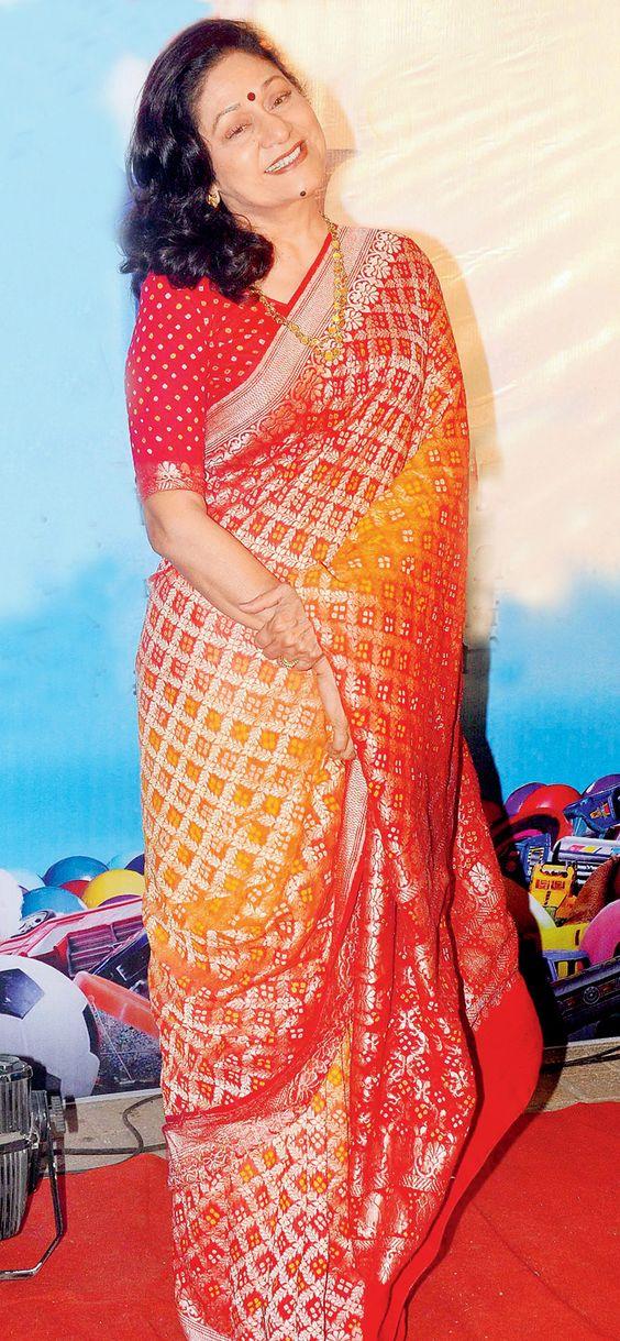Aruna Irani   DOB: 3-May-1952   Mumbai, Maharashtra   Occupation: Actress (Films & TV)   #maybirthdays #cinema #movies #cineresearch #entertainment #fashion #arunairani