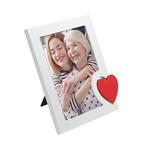 Sumgar Love Picture Frame 5x7 With Wooden Rotating Heart Photo