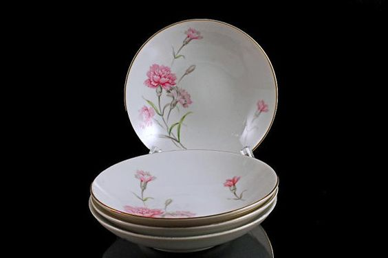 Bowls Fruit / Dessert Royal Court China by MountainAireVintage