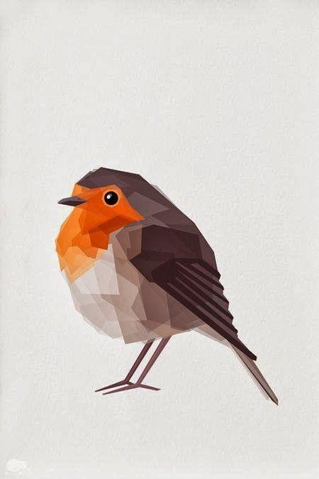 Robin Redbreast print