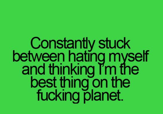 I dunno if I think I'm the best thing, but I do know I'm smarter than some of my family members... Lol