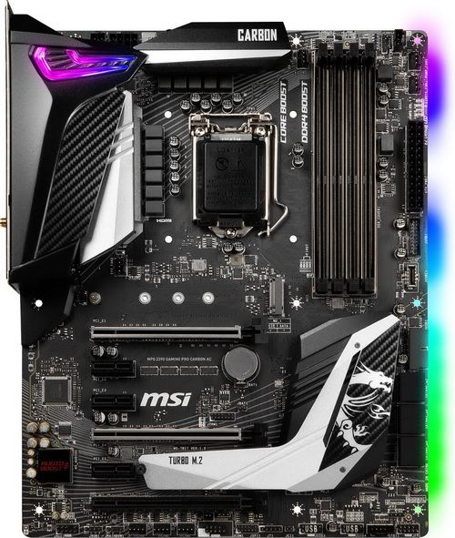 Msi Mpg Z390 Gaming Pro Carbon Motherboard Review In 2020 Motherboard Msi Reviews