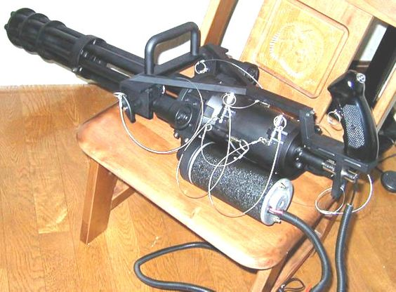 Toy-Tec・GE M134 Mini Gun