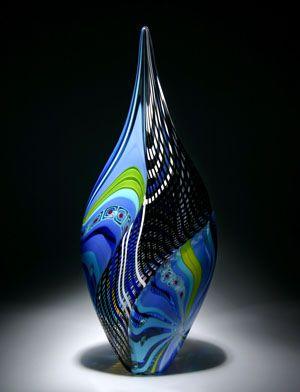Art Glass Sculpture by David Patchen