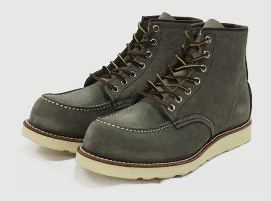 Red Wing for Nigel Cabourn 'Sage Mohave' 6 Inch Classic Work Boot ...