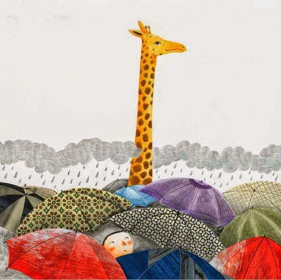 Angela Marchetti. Pinzellades al món: Dia de pluja i colors / Día de lluvia y colores / A rainy day and colors: