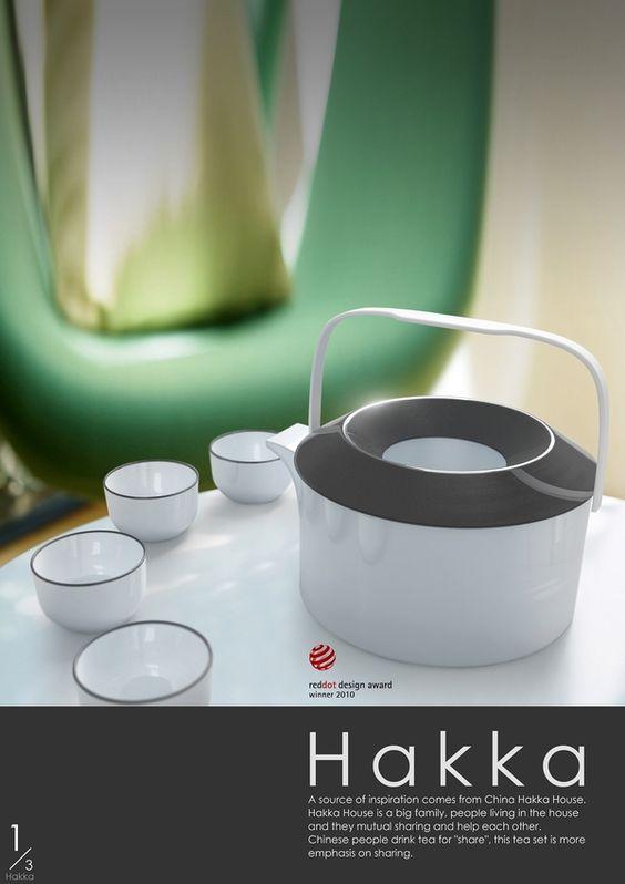 Hakka Tea-set by Jet Ong