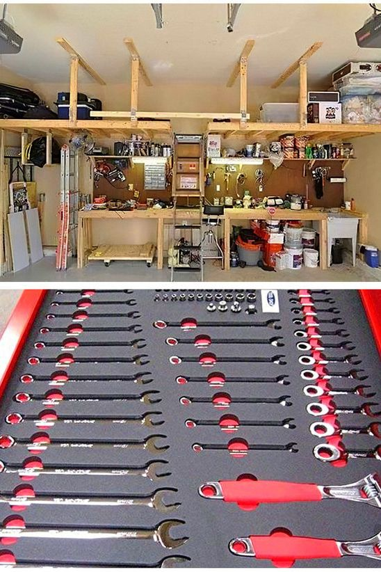 Best Way To Clean And Organize Your Garage Wood Storage Ideas In