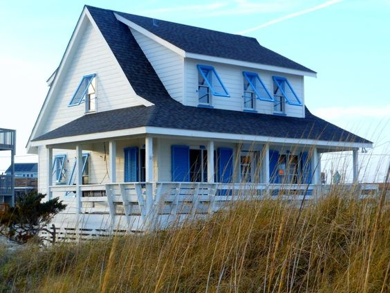 Oceanfront rodanthe pet friendly 3br 2ba beachfront for Hatteras cabins rentals