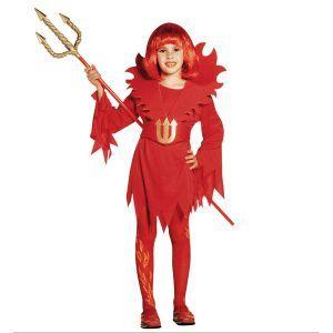 Disfraz de diablesa para niñas de 5 a 13 años - Barullo.com