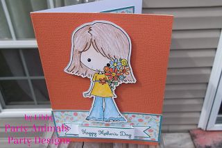 Party Animals' Party Design: Mum's Day
