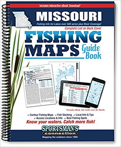 missouri fishing maps guide 2017