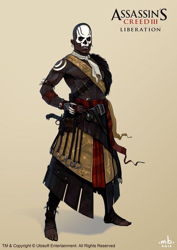 'Assassin's Creed 3: Liberation' Mackandal by Mitkov.deviantart.com on @deviantART