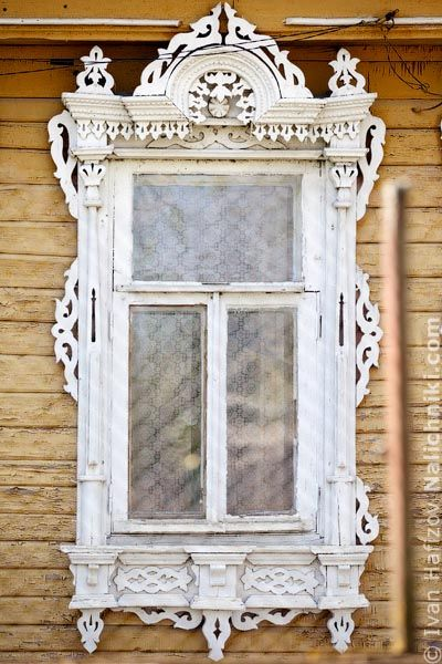 Traditional window frame (Nalichnik) from Egoryevsk, near Moscow, Russia #4
