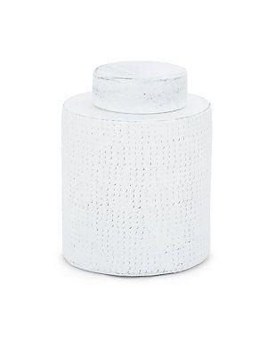 Shiraleah Medium Berber Jar - White - Size No Size
