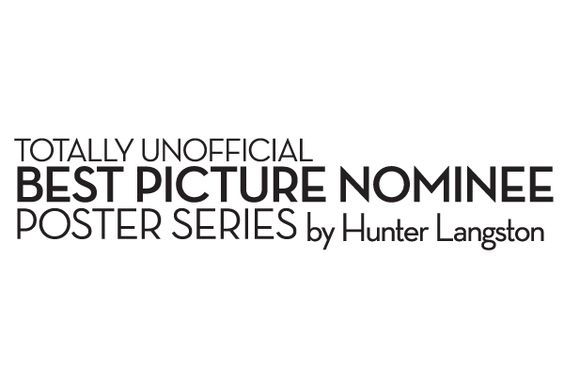 2016 Totally Unofficial Best Picture Nominee Poster series