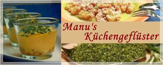 Manus Küchengeflüster.  blog with lots of recipes